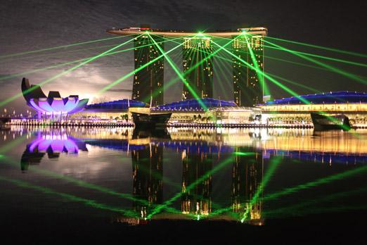 Marina Bay Sands_Lasershow