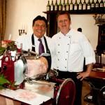 """Das perfekte Duo: In """"Geisels Werneckhof"""" sind Gastfreundschaft und Weinlust zu Hause"""