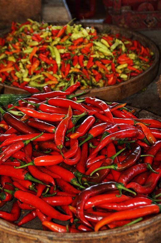 Hot. hot, hot das Chili - die Balinesen liebens scharf