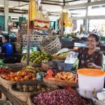 Balis Lebensmittelmärkte - ein kunterbunter Augenschmaus